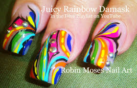 robin moses nail art august 2014