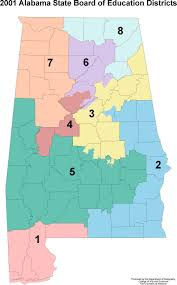 Alabama State Map Alabama Maps Education