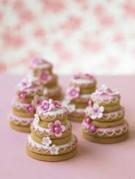 Wedding Cake Cookies These Are Darling Little Sugar Cookies Stacked And Decorated
