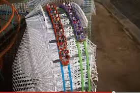Six Flags Adress See The Scary Looking Future For Magic Mountain U0027s Old Colossus