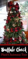 buffalo check plaid christmas tree u2014 weekend craft