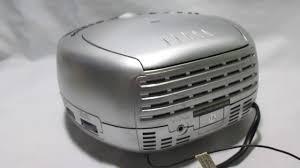durabrand home theater system radio am fm cd e relogio despertador durabrand youtube
