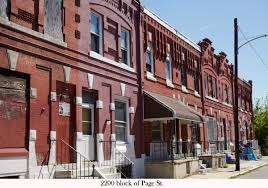 Row Houses Divine Lorraine Architect U0027s Forgotten North Philly Rowhouses At A