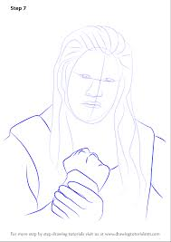 learn how to draw roman reigns wrestlers step by step drawing