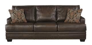 signature design by ashley corvan antique queen sofa sleeper