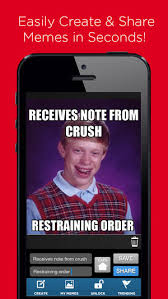 Meme Generator App Iphone - meme generator my meme maker easily create and share memes with