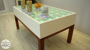 Coffee Tables With Led Lights Led Coffee Table Coffee Tables With Led Lights City Coffee Table