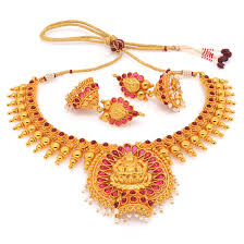 Buy Kasu Mala Lakshmi Ji Temple Jewellery Online Shopping India Designs Collections