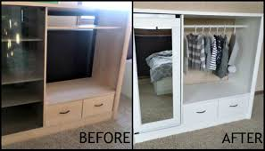 armoire for kids turn an entertainment center into a kids armoire diy projects