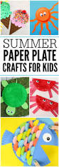 easy summer paper plate crafts for kids plates make great crafts