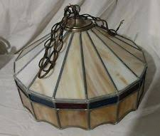 tiffany style lamp hanging ceiling swag pendant chandelier stained