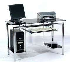 Metal And Glass Computer Desks Glass Computer Desk Glass Computer Corner Desk Glass And Metal