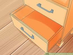 Arranging Bedroom Furniture Feng Shui 2 Easy Ways To Arrange Bedroom Furniture With Pictures