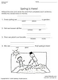 free first grade worksheets reading phonics rhyming tlsbooks