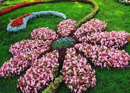 wonderful design flower garden 1000 ideas about flower bed designs