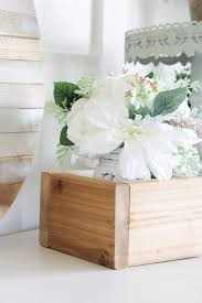 how to make your own diy square planter box making it in the