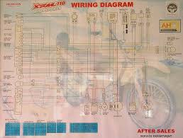 honda xrm 110 wiring diagram images wiring diagram and schematic