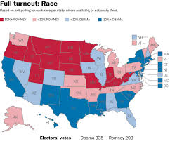 Electoral Votes Per State Map by What The 2012 Election Could Have Looked Like With 100 Percent