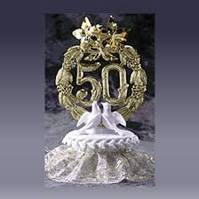 50th cake topper 50th year cake toppers