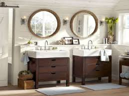 Wood Framed Bathroom Mirrors by Bathroom Ideas Two White Wood Framed Bathroom Mirror With Wall