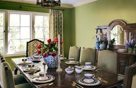 Green Dining Room 8 Designers On Their Favorite Green Paint Colors Design Insights