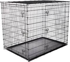 Dog Crate Covers Frisco Xx Large Heavy Duty Double Door Dog Crate 54 In Chewy Com