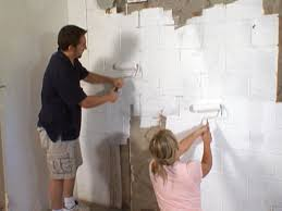 home design cinder block wall interior home builders