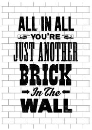 Korn Blind Lyrics Pink Floyd Song Lyric Art Pink Floyd Art Print By Theindoortype