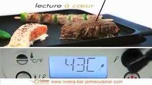 cuisiner du bar plancha électrique précision riviera bar
