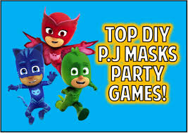 favorite pj masks party games
