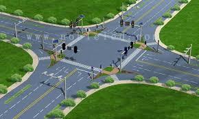 Solar Traffic Light - solar traffic system