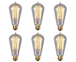 Amber Glass Pendant Lights by Brightech The Original Hand Crafted Vintage Edison Light Bulbs