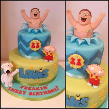smart ideas family guy birthday cake and charming delicious cakes