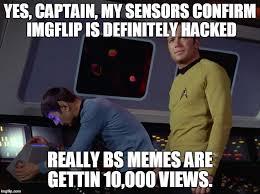 Meme Generator Star Trek - star trek spock meme generator imgflip
