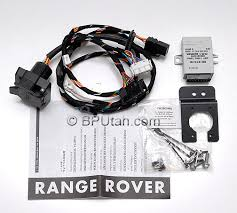 range rover genuine oem factory trailer tow wiring harness