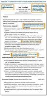 Beginning Teacher Resume Examples by Resumes Designed For Teachers And Educators Teacher Resume