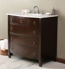 Clearance Bathroom Cabinets by Dresser Converted To Bathroom Vanity Converting Dresser To