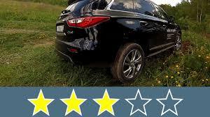 review 2016 infiniti qx60 canadian 2016 infiniti qx60 body rigidity test youtube