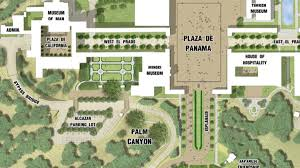 Balboa Park San Diego Map by Planners Respond To National Park Service Letter Concerning Balboa