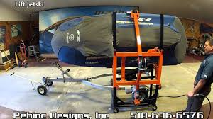 pwc flip lift jet ski rotator youtube
