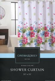 Pink Flower Shower Curtain Floral Shower Curtains Shower Curtains Outlet