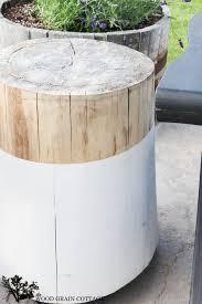 wood stump coffee table tree stump coffee table new stump side table the wood grain cottage