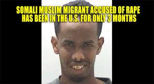 Somali Memes - somali muslim migrant accused of rape on a bus in minnesota long room