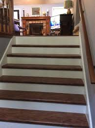 carpet runner on prefinished laminate stair treads