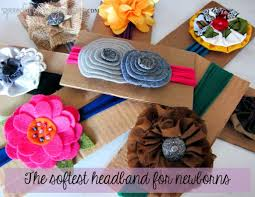 how to make baby headband the newborn headband spoonful of imagination