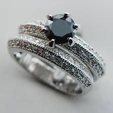 onyx engagement rings black onyx 925 sterling silver top quality fancy jewelry engagement