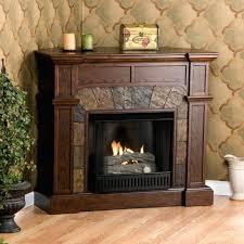 free standing corner gas fireplace living room decor unit gel fuel