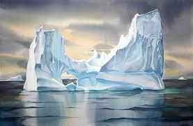 iceberg reflections n 1 greenland