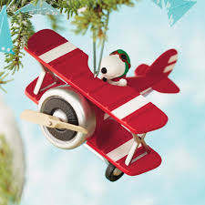 peanuts flying ace snoopy s plane hallmark ornament giveaway
