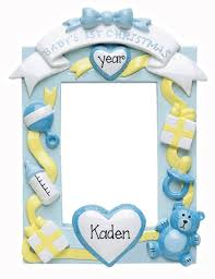 photo frames my personalized ornaments